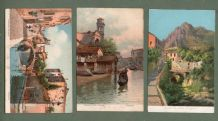 Collectable 3 Old postcards  ITALY Venice etc  #422